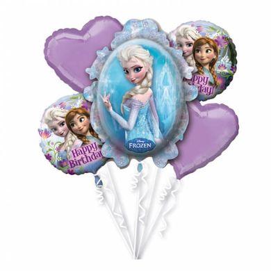 Balónová kytica Ľadové kráľovstvo