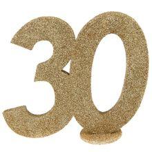 """Číselná dekorácia """"30"""""""