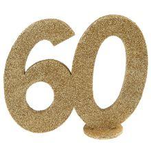 """Číselná dekorácia """"60"""