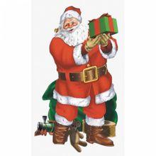 Dekorácia na stenu Santa