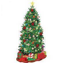 Dekorácia na stenu Vianočný stromček