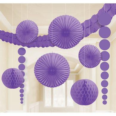 Dekoračná sada miestnosti fialová