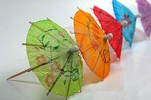 Dekoračné dáždničky