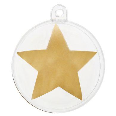 Dekoračné gule Star zlaté