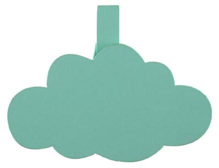 Dekoračné štipce Obláčik mentolové