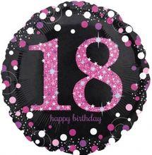 Fóliový balón 18 Pink Diamonds