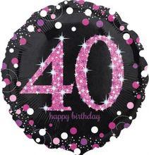 Fóliový balón 40 Pink Diamonds