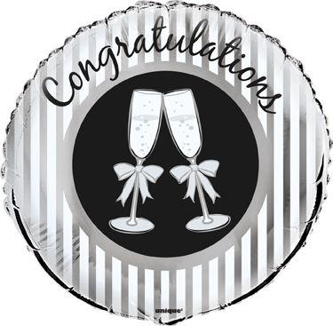Fóliový balón Congratulations