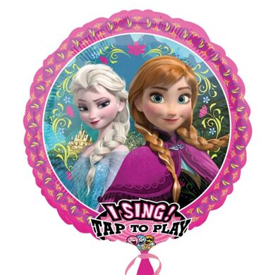 Spievajúci fóliový balón Frozen