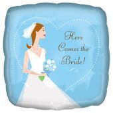 Fóliový balón Here Comes the Bride