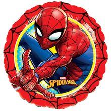 Fóliový balón Spiderman red
