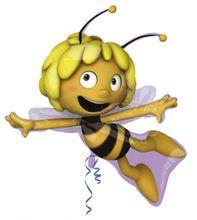 Foliový balón supershape Včielka Mája