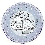 Fóliový balón Zvončeky
