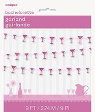 Girlanda Martini poháriky