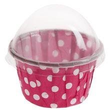Košíky na cupcakes ružové