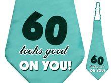 Kravata 60. narodeniny