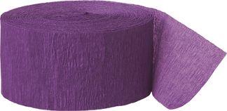 Krepový papier fialový