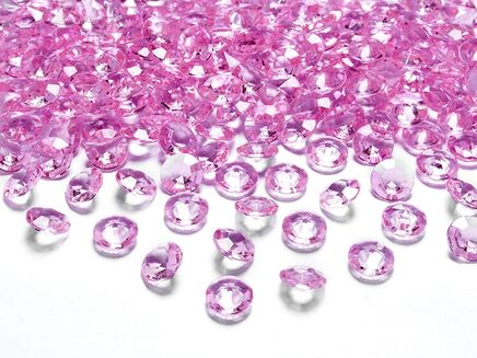 Kryštálové diamanty ružové