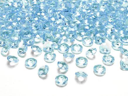 Kryštálové diamanty tyrkysové