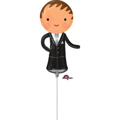 Mini fóliový balón Ženích