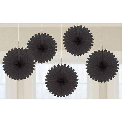 Mini rozetky čierne