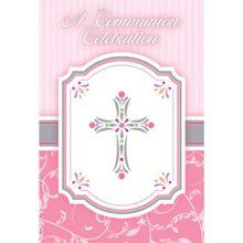 Pozvánky na krstiny a 1.sv. prijímanie dievčatko