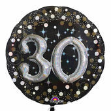 "Prémiový multi balón ""30"" Gold Diamonds"