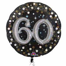 "Prémiový multi balón ""60"" Gold Diamonds"