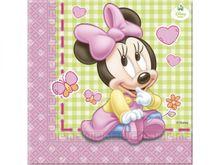 Servítky 1.narodeniny Minnie