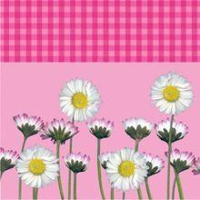Servítky Daisy ružové