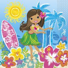 Servítky Hawai