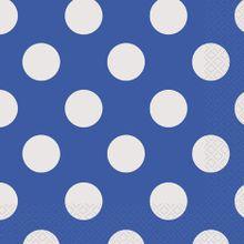 Servítky modré bodky