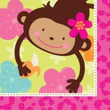 Servítky Monkey Love