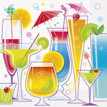 Servítky Summer Cocktail