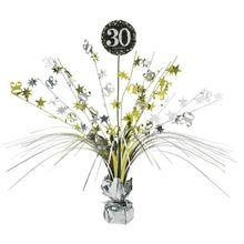 "Stolná dekorácia ""30"" Gold Diamonds"