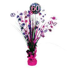 """Stolná dekorácia """"60"""" Pink Diamonds"""
