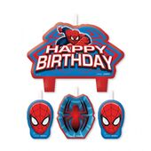 Sviečky Spiderman