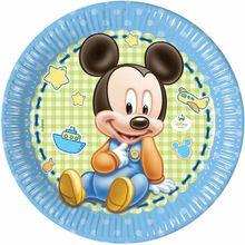 Tanierik veľký 1.narodeniny Mickey