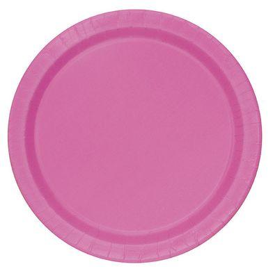 Tanierik veľký hot pink (16 ks)