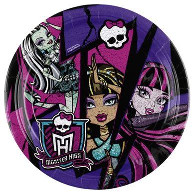 Tanierik veľký Monster High