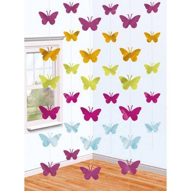 Visiace dekorácie Motýle