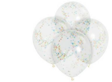 Konfetové balónky