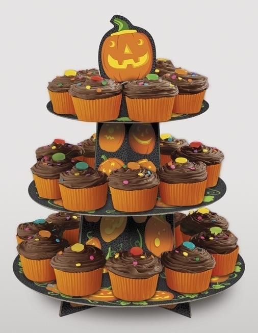Pečení Halloween, Halloween cupcakes, Halloween zápichy