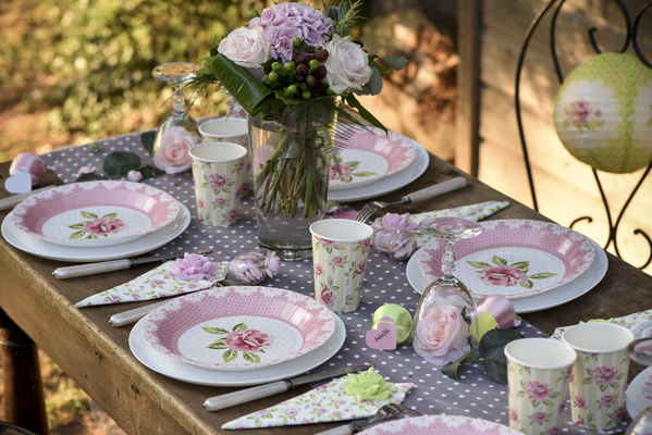 Romantická vintage párty, čaj o piatej párty