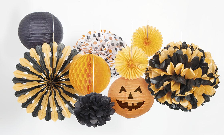 Strašidelná výzdoba na Halloween párty