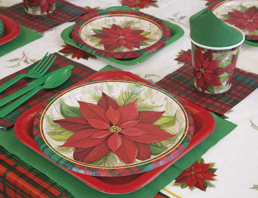 Vianočné stolovanie a dekorácie na stôl