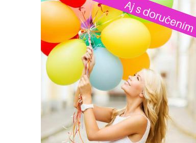 Balónové kytice