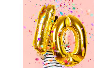 Číselné balónky