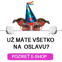 Všetko na oslavu na e-shope