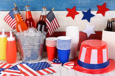 Americké dekorácie, americké stolovanie
